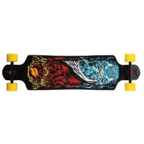 Drop Deck Longboards For Cheap by Santa Drop Heads Or Tails Longboard Review