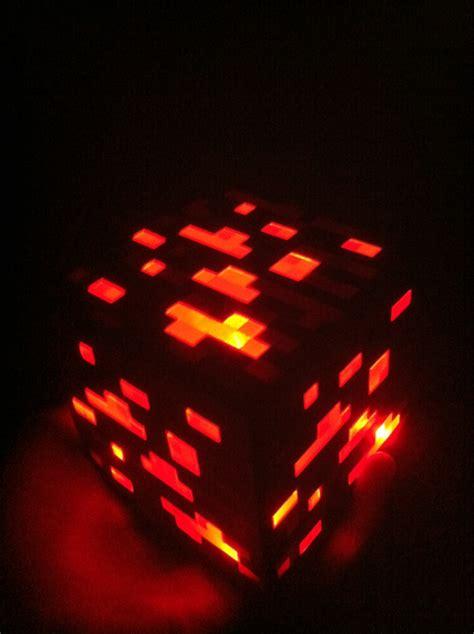 Lit Redstone L Minecraft by Minecraft Light Up Redstone