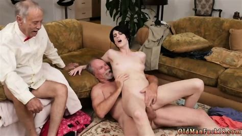 Daddy Skinny Fucks White Bitch And Old Men Young Teen Anal