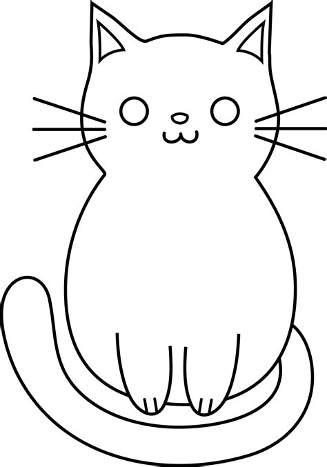 cartoon drawings  cats clipartsco