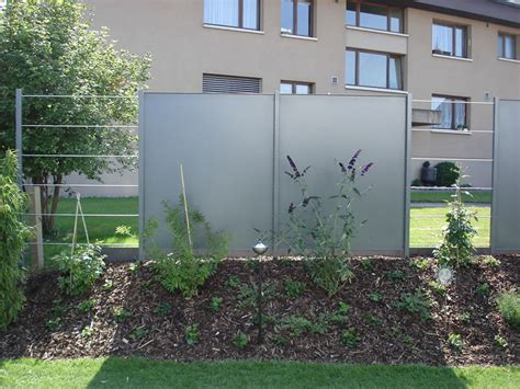 Sichtschutz Aus Metall by Sichtschutz Aus Metall Design Sichtschutz Halbdurchl Ssig