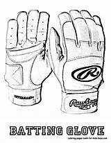 Baseball Coloring Glove Batting Sheet Yescoloring Fired Mlb Players Boys sketch template