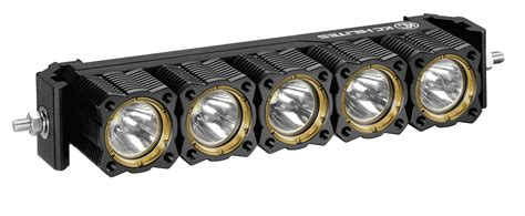 kc hilites flex array 10 led light bar white spot