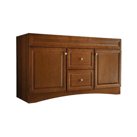allen roth vanity cabinets allen roth 20e vsdb60 60 in cinnamon northrup