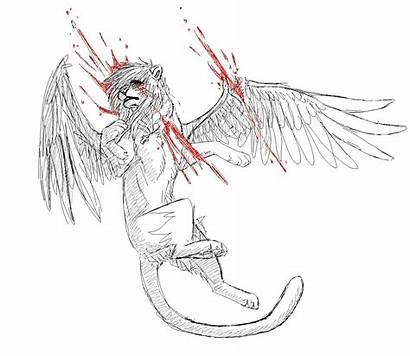 Dying Deviantart Wolf Sad Anime Base Drawings