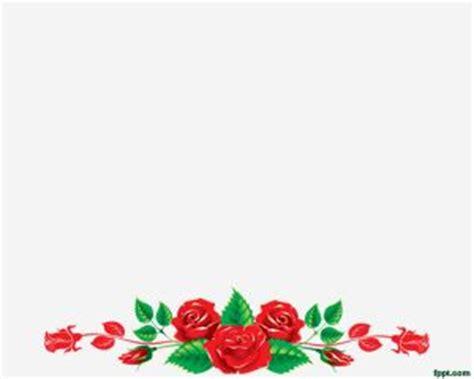 circle merah muda floral wreaths powerpoint template