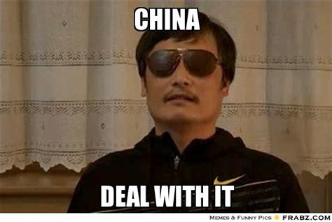 China Memes - china china deal with it meme generator captionator