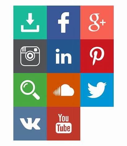 Social Icons Marketing Behance Animated