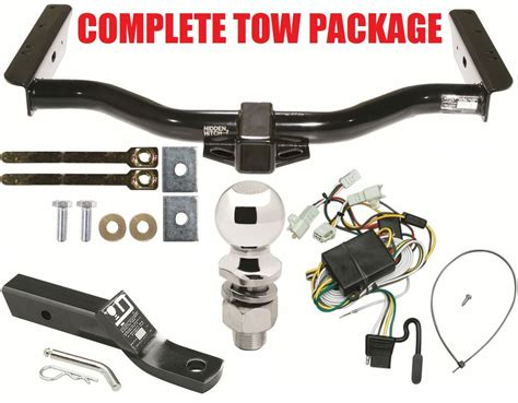 complete trailer hitch package fits   toyota runner  runner class  ebay