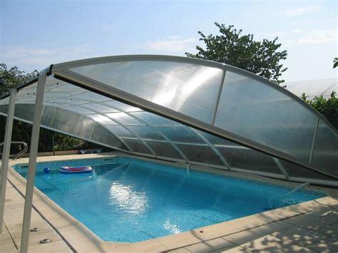 votre abri piscine sur mesure t 233 l 233 scopique bois 224 portes