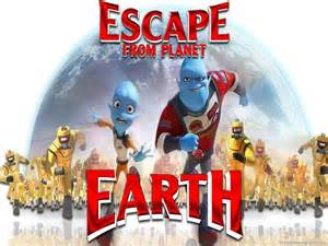 Movie Escape From Planet Earth Cartoon