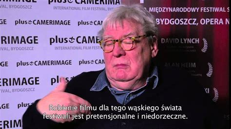 Plus Camerimage Alan Parker interview - YouTube