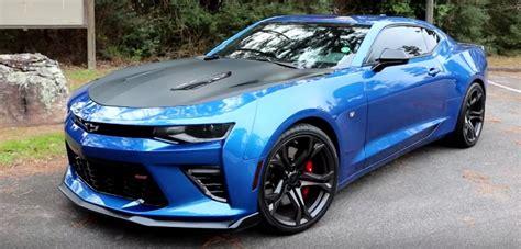 camaro ss blue   cars
