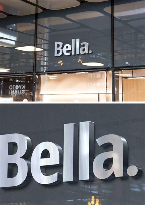 shop facade logo mockup  graphicburger