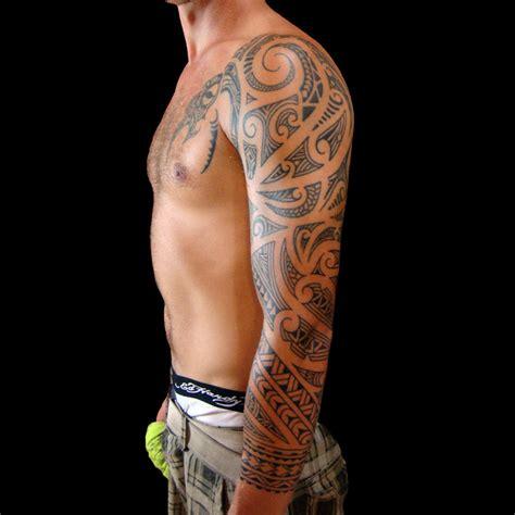 Modele Tatouage Homme Tatouage Maori Epaule Modele