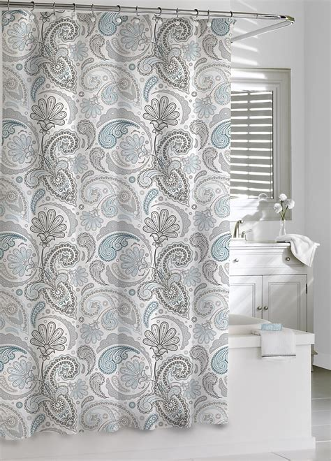 paisley shower curtain luxury shower curtains paisley shower curtain by