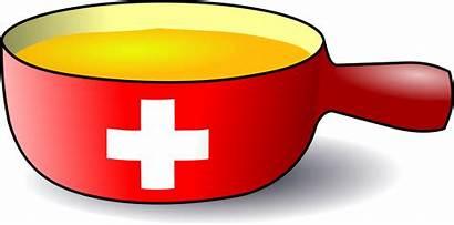 Fondue Caquelon Swiss Clipart