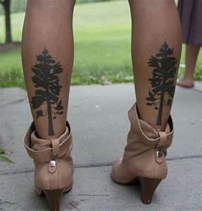 Idée De Tatouage Femme : 1001 id es tatouage mollet 50 mod les qui ne courent ~ Melissatoandfro.com Idées de Décoration