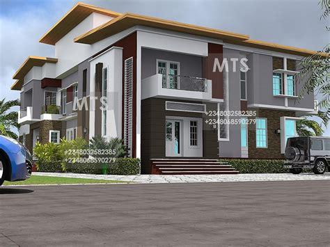 olayemi  bedroom  bedroom twin duplex modern  contemporary nigerian building designs