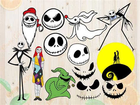 Nightmare Before Christmas Svgs  – 261+ File for DIY T-shirt, Mug, Decoration and more