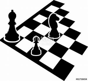 QuotChessboard With Chess Iconsquot Stock Image And Royalty Free
