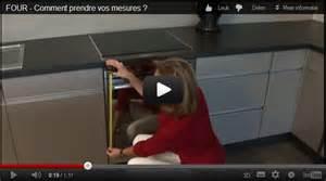 Taille Standard Lave Vaisselle : comment prendre les mesures de votre four vid os ~ Melissatoandfro.com Idées de Décoration