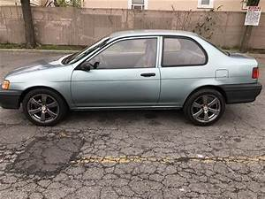 1993 Toyota Tercel Std 57 110 Miles Teal 2 Door 4 Cylinder Engine 1 5l  89 4