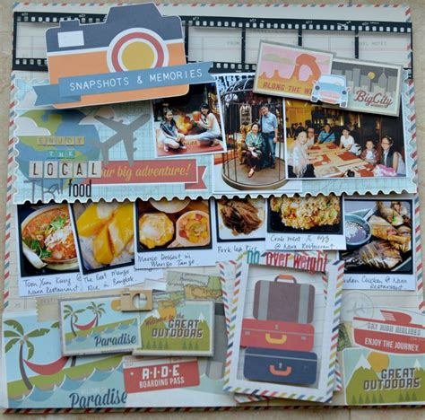 scrapbooking cuisine local food scrapbook com eats scrapbooking