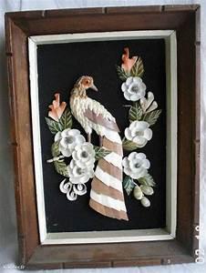 Tableau En Relief : tableau avec oiseau en relief ~ Melissatoandfro.com Idées de Décoration