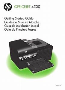 Notice Hp Officejet 4500 G510a