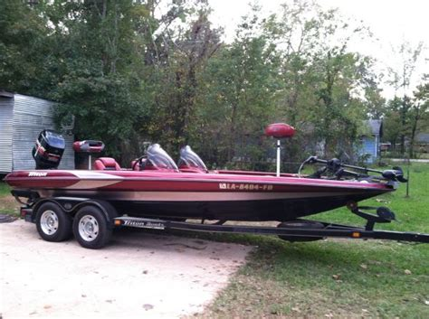 Triton Boats Alexandria La by 1999 Triton Bass Boat For Sale In Alexandria Louisiana