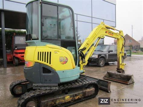 yanmar vio  minikompact digger construction equipment photo  specs