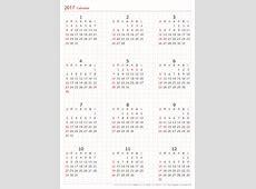 2018年カレンダー印刷用 a4 2018 カレンダー を無料でダウンロードできます