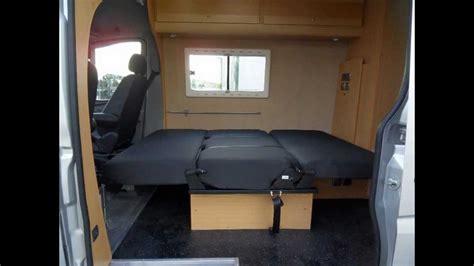 garage conversion design mercedes sprinter 5 berth family motorhome cer