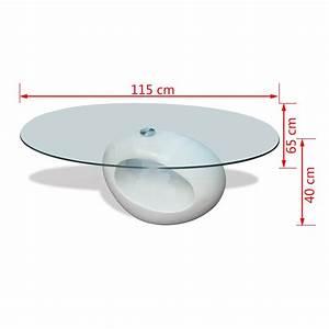 Table Basse En Solde : acheter table basse de salon en verre avec pied blanc ~ Teatrodelosmanantiales.com Idées de Décoration