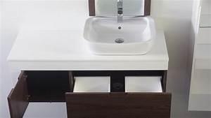 Meilleur meuble salle de bain pour vasque a poser 60 sur for Salle de bain design avec meuble salle de bain 60 cm castorama