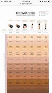 Brown Foundation Shade Chart Bare Minerals Shade Selection Best Chart For Bare