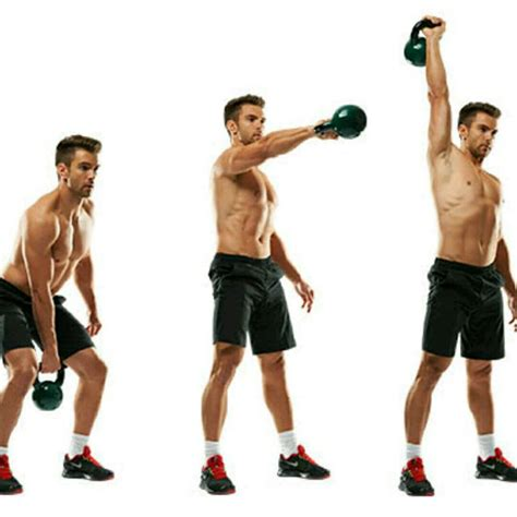 kettlebell arm snatch right russian swing exercise workout skimble exercises brawn body workouts