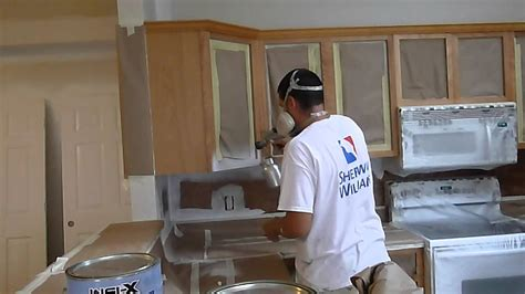 cabinet painting refinishing  painting