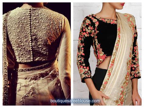 high neck blouse high neck embroidery blouse design