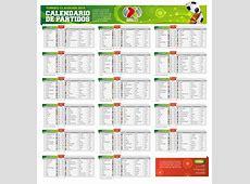Calendario Torneo Clausura 2014 futbol mexicano