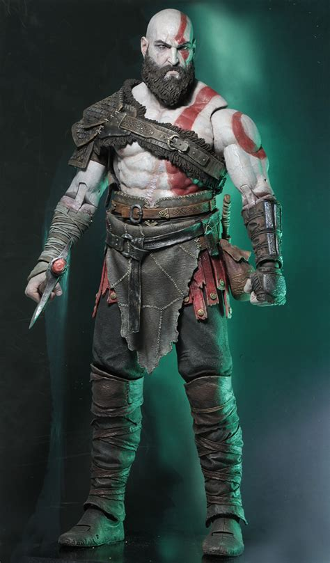 Details On The God Of War 4  Kratos 14 Scale Figure By