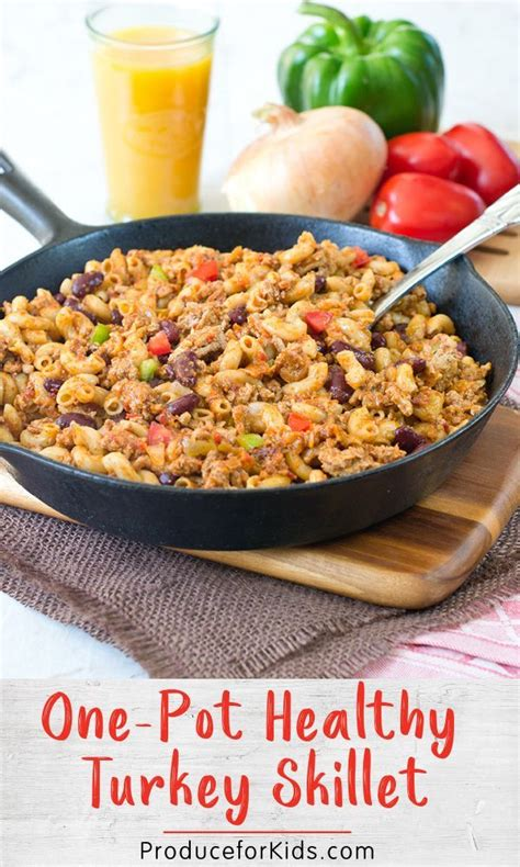 Are you a diabetic looking for healthy and easy recipes or meals that'll only take you 30 minutes to make? One-Pot Healthy Turkey Skillet | Recipe | Healthy turkey recipes, Turkey meat recipes, Ground ...