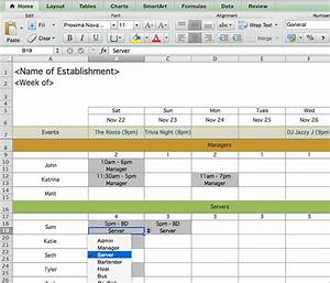 schedule template 39 free word excel pdf format With restaurant work schedule template
