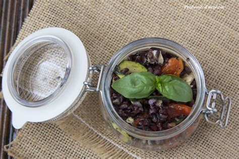 cucinare filetti di sgombro riso venere con verdure grigliate e filetti di sgombro
