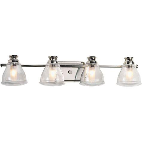 progress lighting academy collection 4 light polished