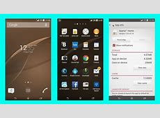 Sony Xperia Z3 system apps ported to other Xperia devices