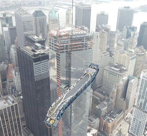 Escalator climbs 1 WTC exterior, tracing those Sandy ...