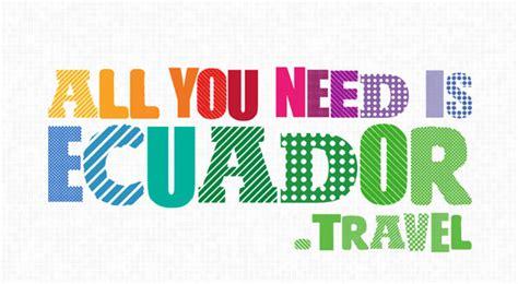 """Ecuador Relanza En Nueva York La Campaña """"all You Need Is"""