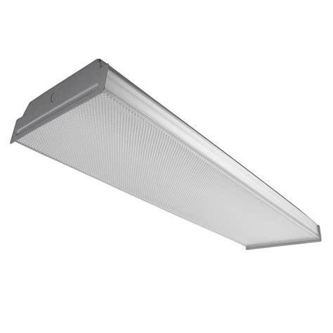 lowes fluorescent shop lights shop utilitech prismatic acrylic ceiling fluorescent light